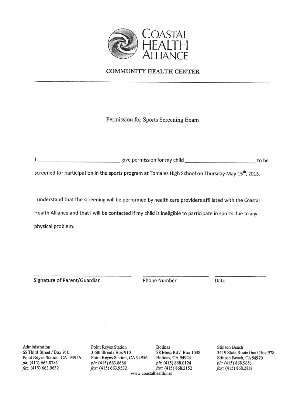 Doc12751650 Physician Release Form Release Form To Return To – Physician Release Form